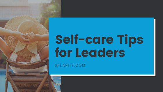 Self-care Tips for Leaders