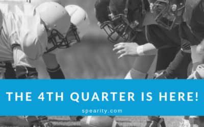 The 4th Quarter is Here: 4 Tips to Help You Finish Strong