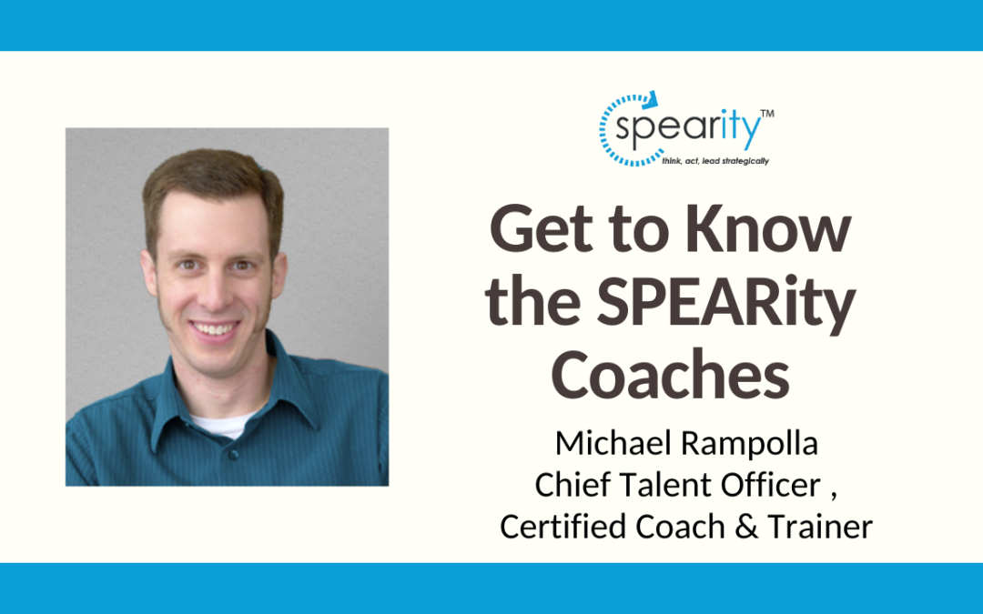 Get to Know SPEARity Coach – Michael Rampolla