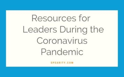 Resources for Leaders During the Coronavirus Pandemic