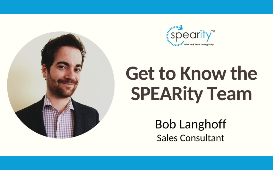 Get to Know SPEARity Sales Consultant: Bob Langhoff