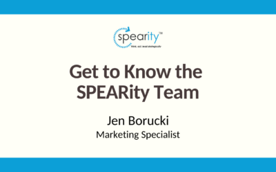 Get to Know SPEARity Marketing Specialist: Jen Borucki