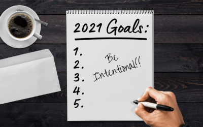 Being Intentional with Your Goal for 2021
